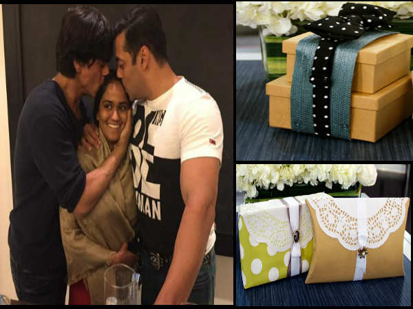 Arpita Blessed by Shahrukh and Salman