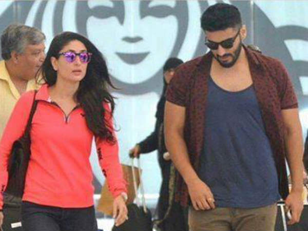 Arjun Kapoor meets his crush Kareena Kapoor at Airport
