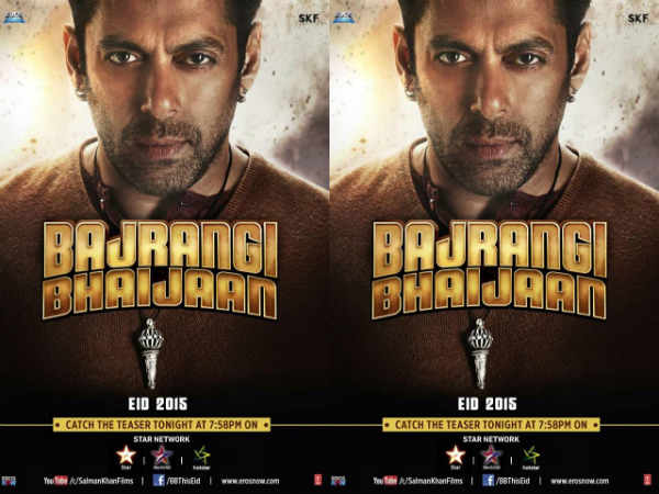 Salman Khan's Bajrangi Bhaijaan teaser today on Star network