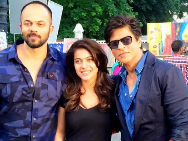 Dilwale first picture of Shahrukh Khan, Kajol together