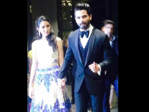 Shahid Kapoor reception