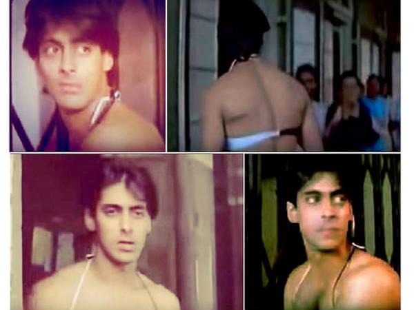 OUCH! जब बिकीनी में दिखे सुपरस्टार सलमान खान..