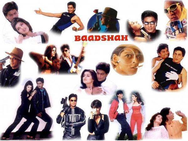 Image result for shahrukh khan फिल्म- 'बादशाह'