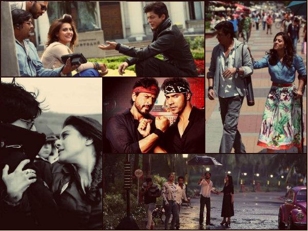 Unseen PICS: शाहरूख- काजोल का ऐसा रोमांस आपने नहीं देखा होगा!