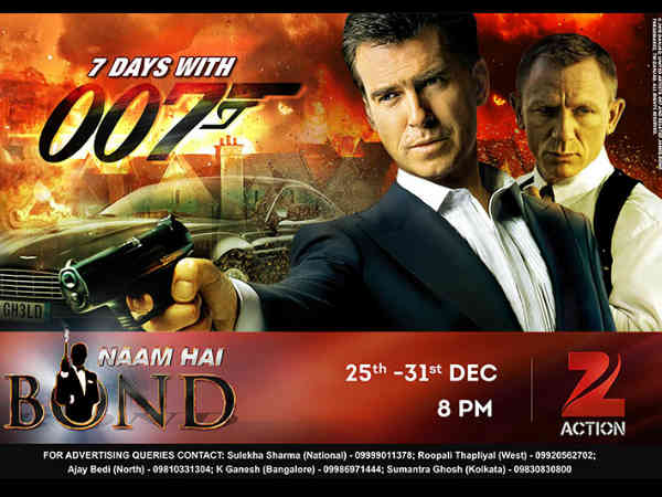 zee action james bond
