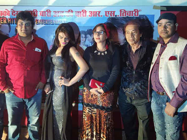 Premier of Bhojpuri film Saajan ki Baahon mein - Hindi Filmibeat