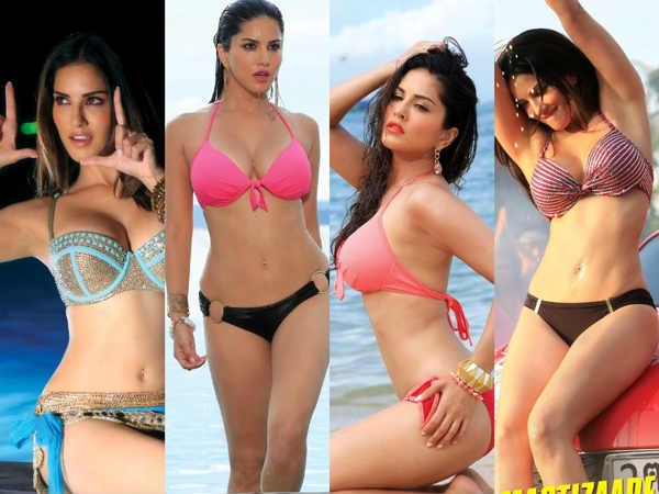 Sunny Leone Hot Bikini Pics - Hindi Filmibeat-9036