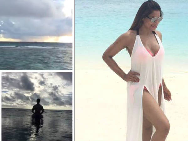 bipasha basu honeymoon pics