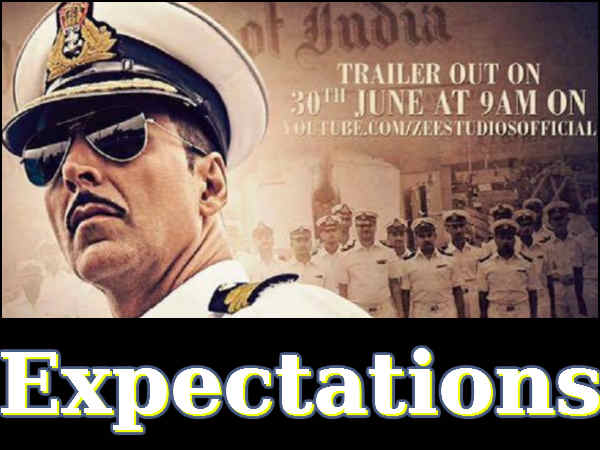rustom trailer expectations