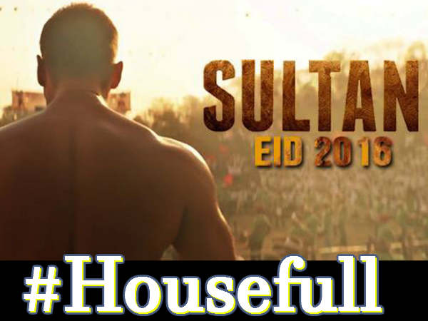 salman khan sultan booking details