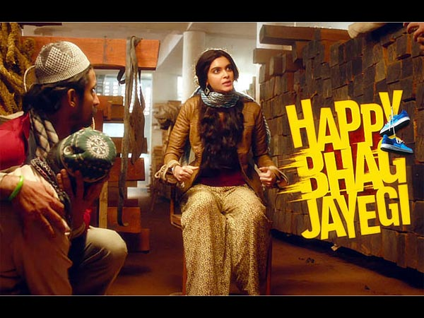 happy bhaag jaayegi film review