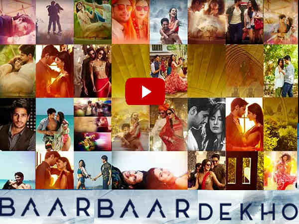 baar baar dekho official trailer