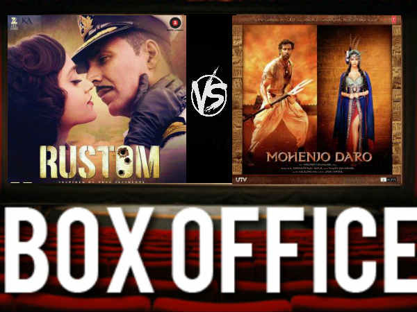 Mohenjodaro Box office collections Rustom Box office collections