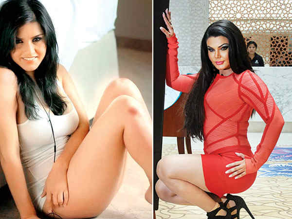 Rakhi Sawant and Sunny Leone war