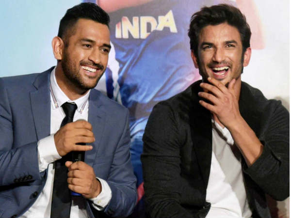 MS Dhoni and Sushant Singh Rajput