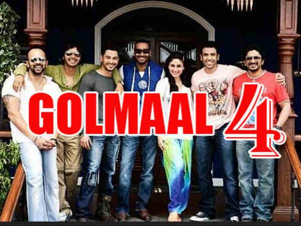 अजय देवगन की वजह से.. 'गोलमाल 4' किया REJECT.. या....!