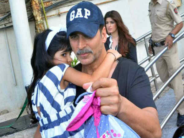 Akshay Kumar daughter nitara