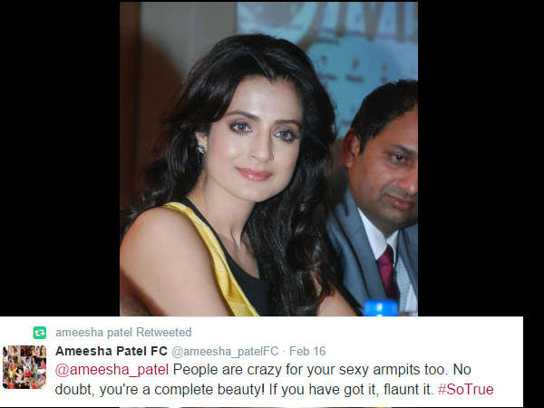 Ameesha Patel weird statements