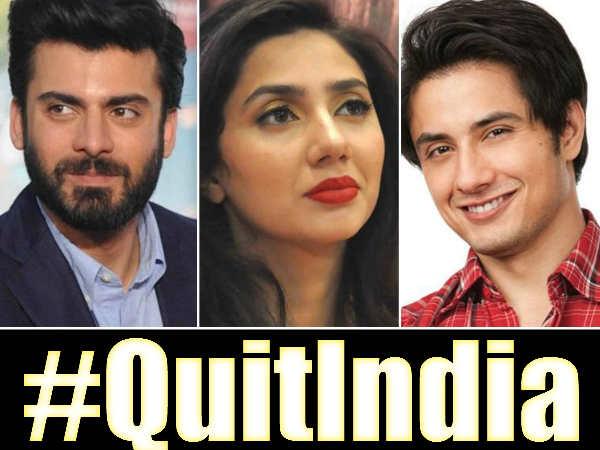 #Protest: फवाद खान ने चुपचाप छोड़ा भारत, माहिरा खान ने जमकर लताड़ा