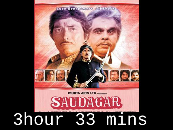 Longest Running Bollywood films