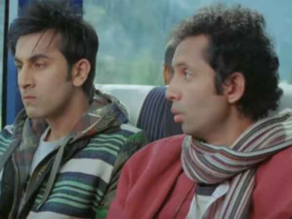 Bollywood train scenes
