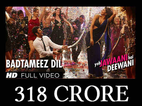 Bollywood's top worldwide grossers