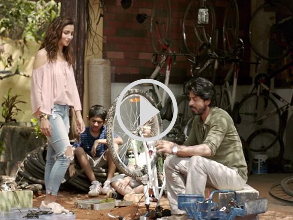 #Dear Zindagi: डबल क्यूट है शाहरूख- आलिया की फिल्म का दूसरा TEASER