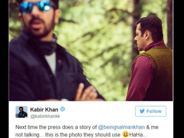 #JustIn: सलमान ने रोक दी ट्यूबलाइट की शूट...कबीर खान ने माना - हुआ है झगड़ा!