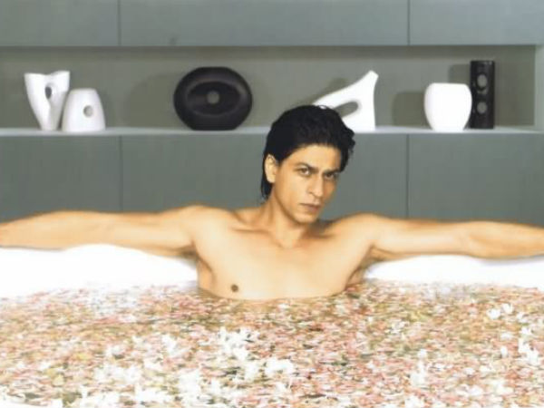 Image result for shahrukh khan swimming