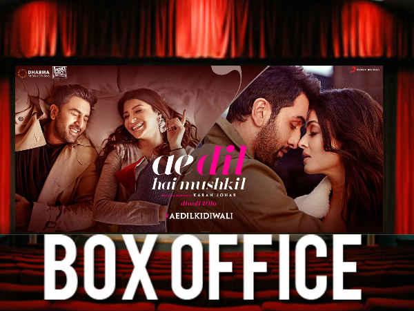 Ae Dil Hai Mushkil worldwide Box Office