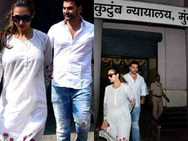 Arbaaz khan and Malaika  attend first counselling session after filing for divorce