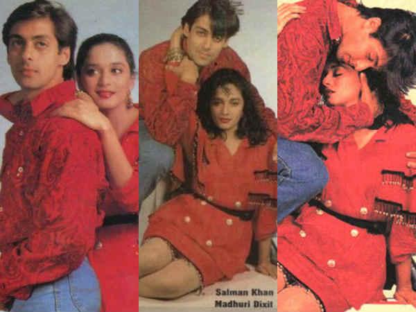 #RarePics-सलमान खान और माधुरी की पुरानी फोटोशूट..देखते रह जाएंगे आप