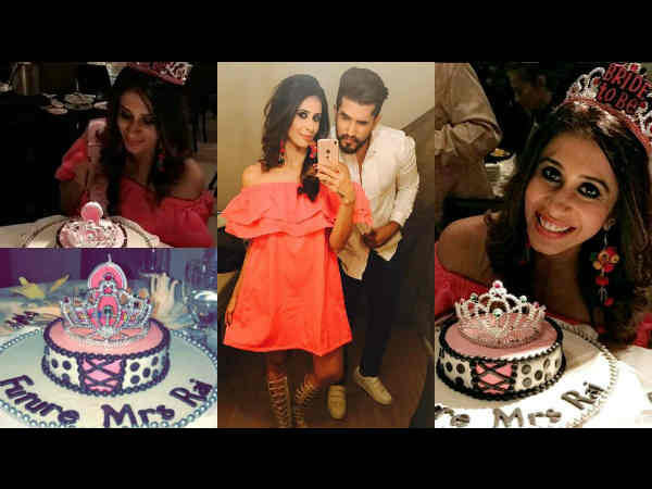 Ex-Bigg Boss ContestantKishwer Merchant gets a bachelorette party