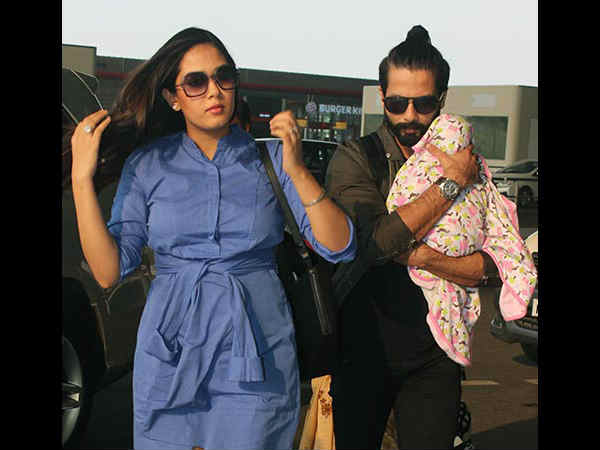 Shahid & Mira Kapoor Are Taking Their Baby Misha For her first holiday trip
