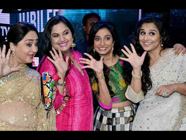 Vidya Balan Re-Unites With Hum Paanch gang for a Special Episode