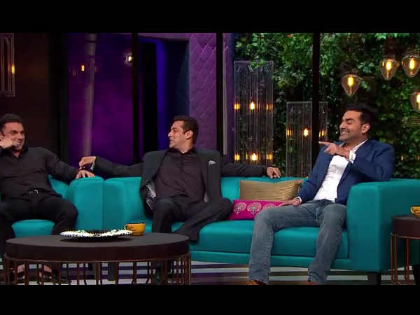 salman khan koffee with karan