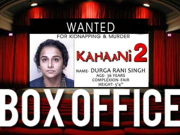 Kahaani 2 Box Office report