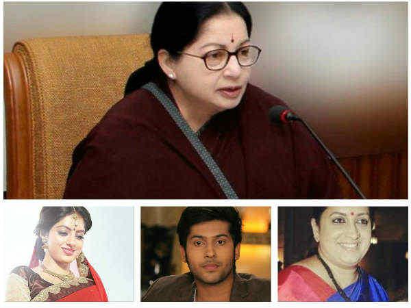 जयललिता के निधन पर  टीवी स्टार्स ने जताया शोक