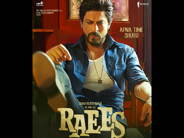 Raees new poster