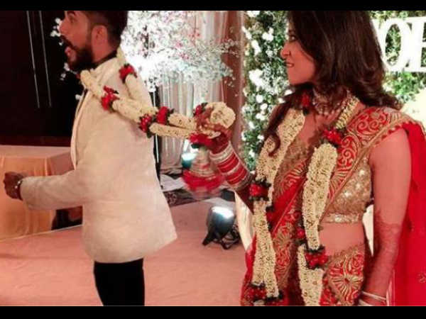 Suyyash Rai Kishwer Merchant wedding pics