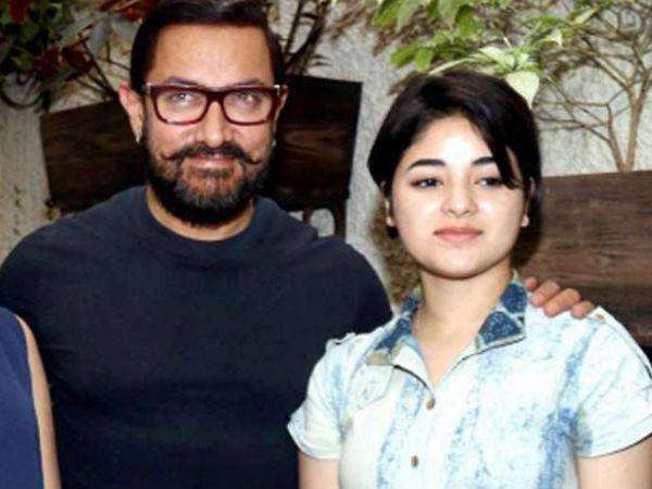 ज़ायरा के पक्ष में उतरे आमिर खान..कहा 'तुम मेरे लिए रोल मॉडल'