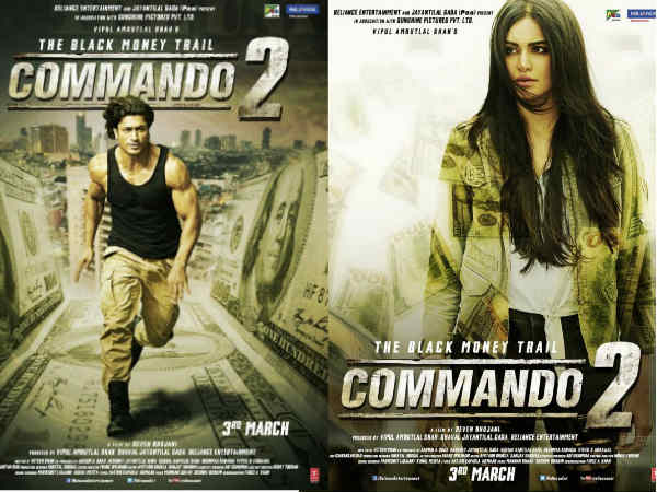 commando-2-posters-are-fierce-and-raw
