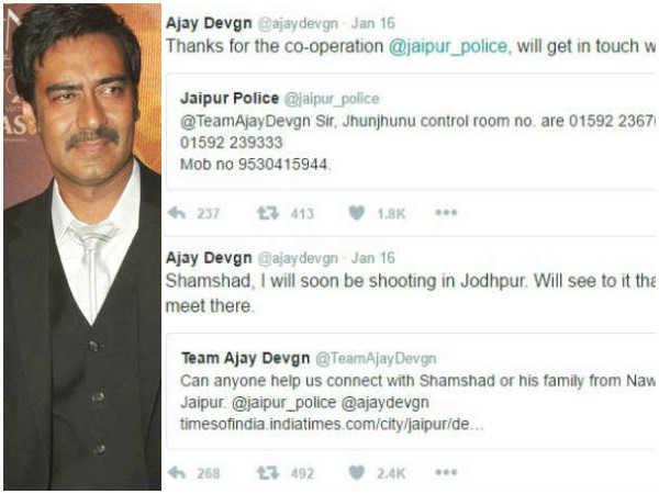 अजय देवगन को मिल रही है ऐसी धमकी..पढ़ें क्या है पूरा मामला