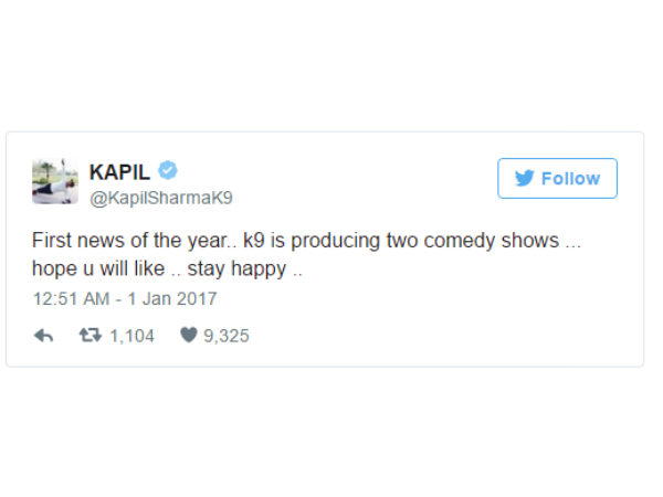 comedian kapil kapil sharma announces two more comedy shows