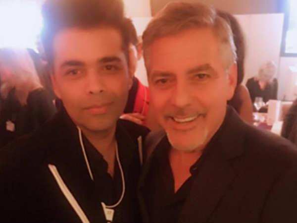 करण जौहर ने शेयर की जॉर्ज क्लूनी के साथ तस्वीर..बेहद शानदार