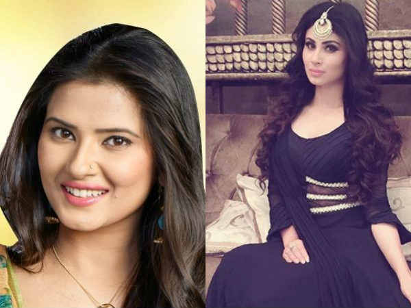 naagin actress Mouni Roy Asks kasam actress Kratika Sengar: Are You Pregnant?