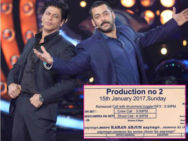 DETAILS: सलमान खान की 'ट्यूबलाइट'.. ऐसा होगा शाहरूख का किरदार.. देंखे PICS