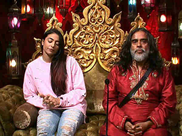 bigg boss 10 finally om swami is kicked out from house After He Threw His Pee On VJ Bani And Rohan!