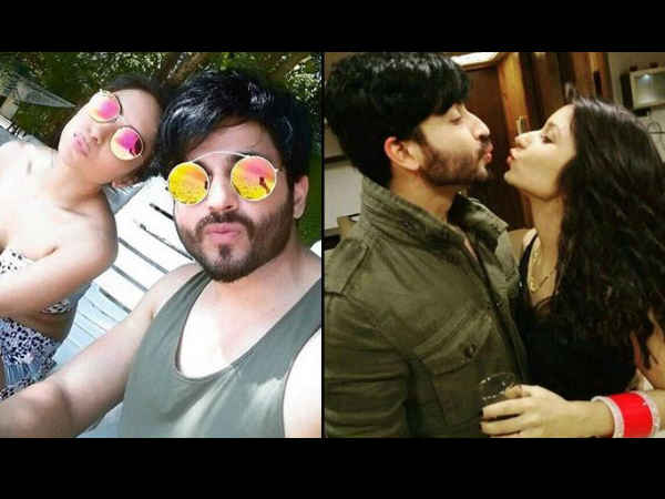 sasural simar ka fame actors dheeraj dhoopar vinny arora honeymoon pics