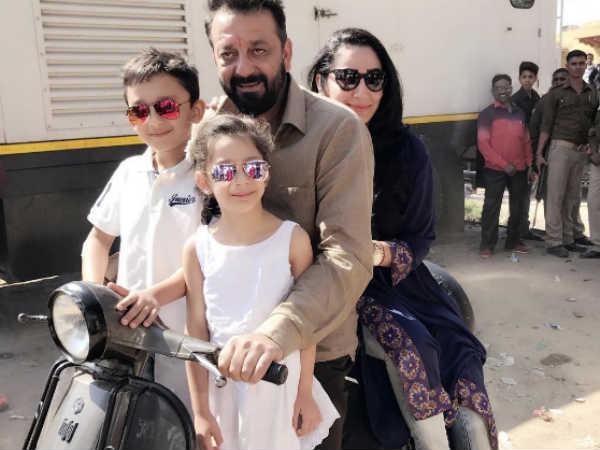 संजय दत्त ने स्कूटर पर कराई परिवार को आगरा की सैर..पत्नी ने शेयर की तस्वीर